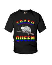 Lgbt Opossum Trash Queen Shirt Youth T-Shirt thumbnail