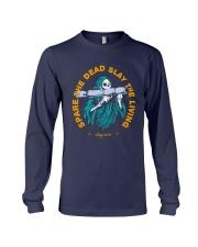 Spare The Dead Slayy The Living Shirt Long Sleeve Tee thumbnail