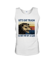 Lets Eat Trash And Get Hit By A Car Shirt Unisex Tank thumbnail