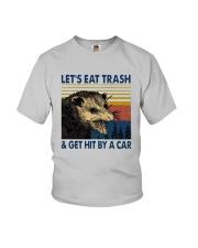 Lets Eat Trash And Get Hit By A Car Shirt Youth T-Shirt thumbnail
