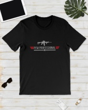 Wisconsin Students Gun Pew Professional Shirt Classic T-Shirt lifestyle-mens-crewneck-front-17