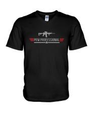 Wisconsin Students Gun Pew Professional Shirt V-Neck T-Shirt thumbnail