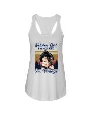 Vintage October Girl Im Not Old Im Vintage Shirt Ladies Flowy Tank thumbnail