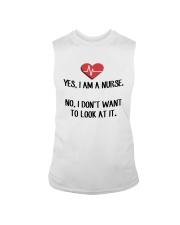 Yes I Am A Nurse No I Don't Want To Look At Shirt Sleeveless Tee thumbnail