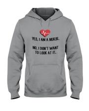Yes I Am A Nurse No I Don't Want To Look At Shirt Hooded Sweatshirt thumbnail