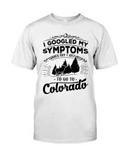 Camping Goat I Googled My Symptom Turned Out Shirt Classic T-Shirt front