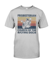 Vintage Frisbeeterian Church Of The Flying Shirt Classic T-Shirt tile