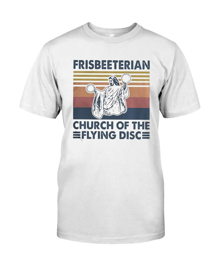 Vintage Frisbeeterian Church Of The Flying Shirt Classic T-Shirt