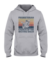 Vintage Frisbeeterian Church Of The Flying Shirt Hooded Sweatshirt thumbnail