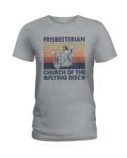 Vintage Frisbeeterian Church Of The Flying Shirt Ladies T-Shirt thumbnail