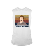 Vintage Ron Swanson I Regret Nothing Shirt Sleeveless Tee thumbnail