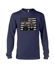 Leader American Flag Shirt Long Sleeve Tee thumbnail