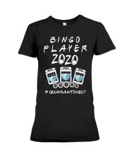 Bingo Player 2020 Quanrantined Shirt Premium Fit Ladies Tee thumbnail