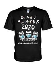 Bingo Player 2020 Quanrantined Shirt V-Neck T-Shirt thumbnail