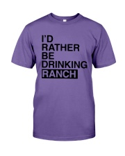 I'd Rather Be Drinking Ranch Shirt Premium Fit Mens Tee thumbnail