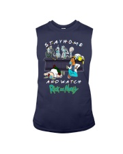 Stay Home And Watch Rick And Morty Shirt Sleeveless Tee thumbnail