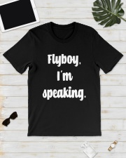 Flyboy I'm Speaking Shirt Classic T-Shirt lifestyle-mens-crewneck-front-17