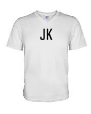BTS Jungkook JK Shirt V-Neck T-Shirt thumbnail