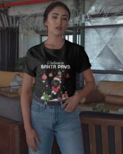 Christmas Labrador I Believe In Santa Paws Shirt Classic T-Shirt apparel-classic-tshirt-lifestyle-05