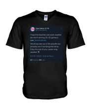 Sixers Nation I Hope The Beaches And Warm Shirt V-Neck T-Shirt thumbnail