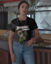Aew Jurassic Express Shirt Classic T-Shirt apparel-classic-tshirt-lifestyle-05