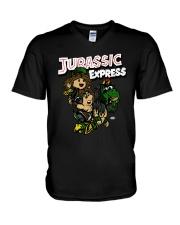 Aew Jurassic Express Shirt V-Neck T-Shirt thumbnail