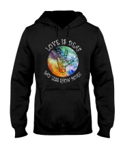 Love Is Deaf Say Less Show More Shirt Hooded Sweatshirt thumbnail