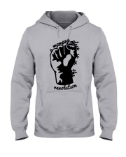 Hand A Woman's Place Is In The Revolution Shirt Hooded Sweatshirt thumbnail