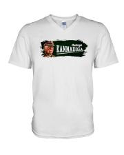Field Marshal Cariappa Deshakkagi Kannadiga Shirt V-Neck T-Shirt thumbnail