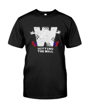 Hitting The Wall Shirt Premium Fit Mens Tee tile