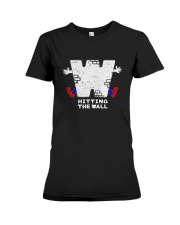 Hitting The Wall Shirt Premium Fit Ladies Tee tile