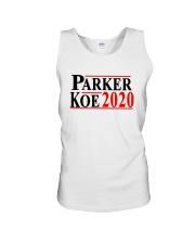 Parker Koe 2020 Shirt Unisex Tank thumbnail