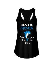 Bestie Shark Doo Doo Doo Doo Doo Shirt Ladies Flowy Tank thumbnail