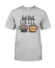 Central Perk Luke's But First Coffee Shirt Classic T-Shirt tile