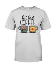Central Perk Luke's But First Coffee Shirt Premium Fit Mens Tee thumbnail