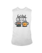 Central Perk Luke's But First Coffee Shirt Sleeveless Tee thumbnail