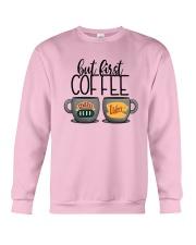 Central Perk Luke's But First Coffee Shirt Crewneck Sweatshirt thumbnail