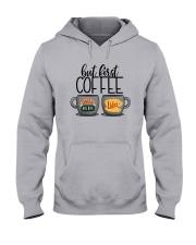 Central Perk Luke's But First Coffee Shirt Hooded Sweatshirt thumbnail