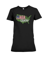 Maga Country Shirt Premium Fit Ladies Tee thumbnail