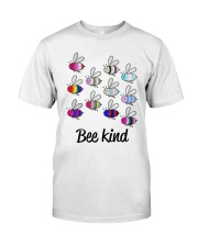 Lgbt Bee Kind T Shirt Classic T-Shirt front