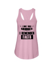 I Don't Hold Grudges I Remember Facts Shirt Ladies Flowy Tank thumbnail