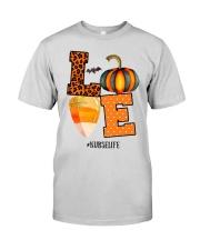Halloween Pumpkin Love Nurselife Shirt Premium Fit Mens Tee thumbnail