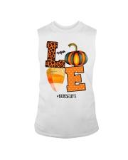 Halloween Pumpkin Love Nurselife Shirt Sleeveless Tee thumbnail