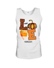 Halloween Pumpkin Love Nurselife Shirt Unisex Tank thumbnail