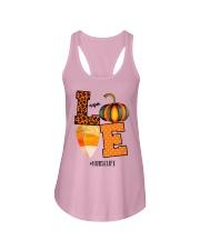 Halloween Pumpkin Love Nurselife Shirt Ladies Flowy Tank thumbnail