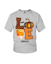 Halloween Pumpkin Love Nurselife Shirt Youth T-Shirt thumbnail