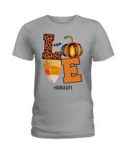 Halloween Pumpkin Love Nurselife Shirt Ladies T-Shirt thumbnail