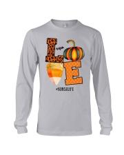 Halloween Pumpkin Love Nurselife Shirt Long Sleeve Tee thumbnail