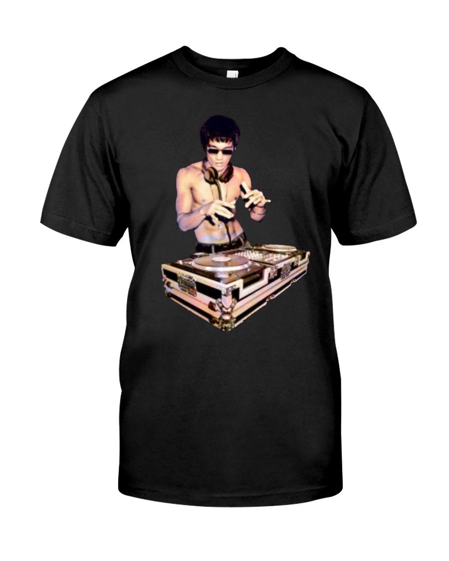 Bruce Lee T Shirt Dj Classic T-Shirt