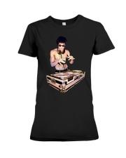Bruce Lee T Shirt Dj Premium Fit Ladies Tee thumbnail
